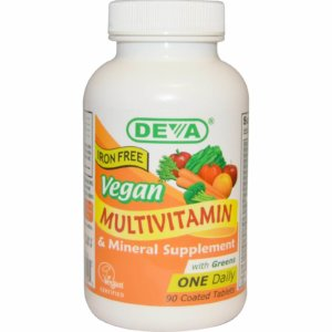 DEVAビーガン対応マルチビタミン・ミネラル