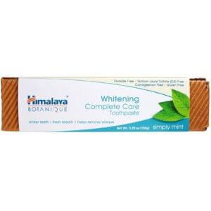 Himalaya, ボタニーク、ホワイトニング・コンプリートケア歯磨き粉