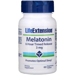Life Extension、メラトニン6時間徐放
