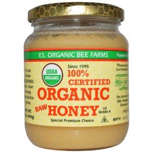 100%認証オーガニック生はちみつ、Y.S. Eco Bee Farms